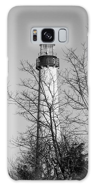 Cape May Light B/w Galaxy Case
