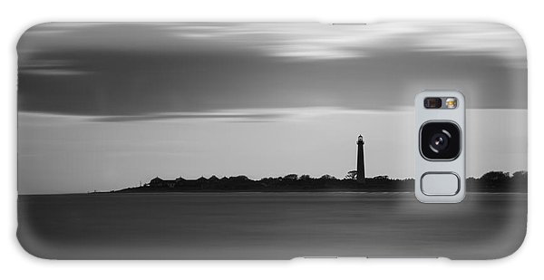 Cape May Galaxy Case - Cape May Lighthouse Long Exposure Bw by Michael Ver Sprill