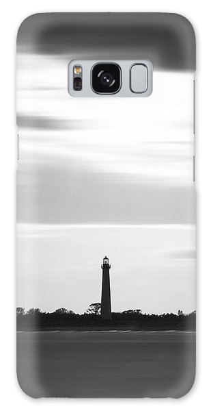 Cape May Galaxy Case - Cape May Lighthouse Narrow Long Exposure Bw by Michael Ver Sprill