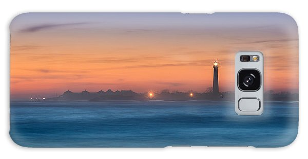 Cape May Lighthouse Sunset Galaxy Case
