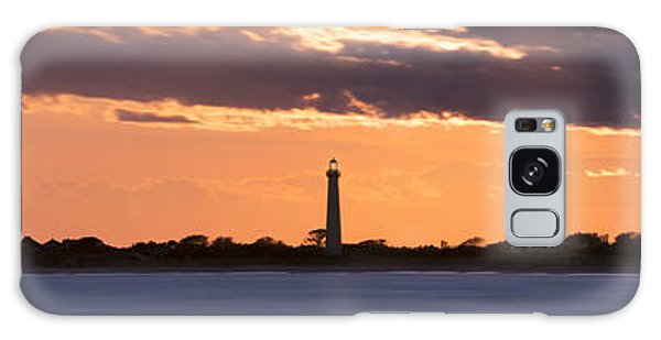 Cape May Galaxy Case - Cape May Lighthouse Sunset Panorama by Michael Ver Sprill