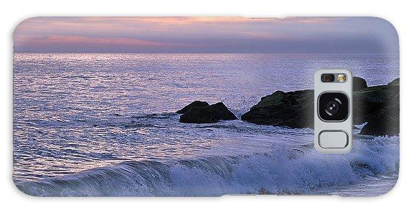 Cape May Sunset Galaxy Case by Olivia Hardwicke