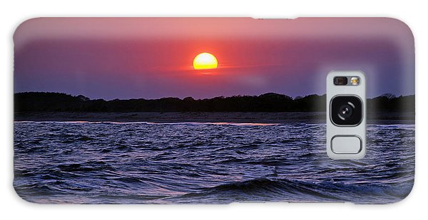 Cape May Sunset Galaxy Case by Richard Bryce and Family