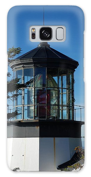 Cape Meares Lighthouse Galaxy Case