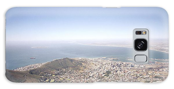 Cape Town Panorama Galaxy Case by Shaun Higson