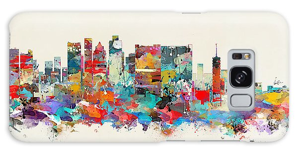 Town Galaxy Case - Cape Town South Africa Skyline by Bri Buckley