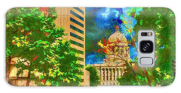 Capital - Jefferson City Missouri - Painting Galaxy Case