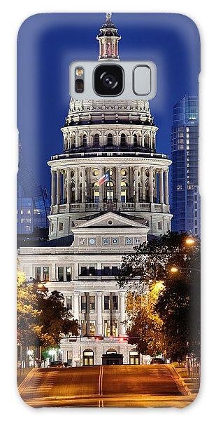 Capitol Of Texas Galaxy Case