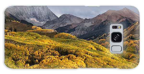Capitol Peak In Snowmass Colorado Galaxy Case