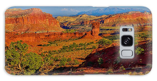 Capitol Reef Landscape Galaxy Case by Greg Norrell
