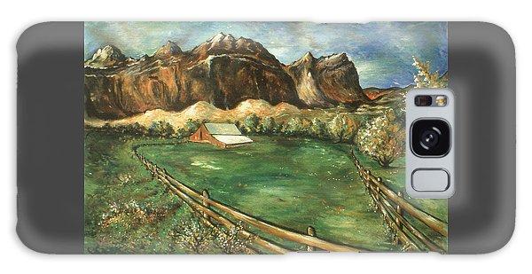 Capitol Reef Utah - Landscape Art Painting Galaxy Case