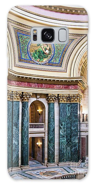Capitol - Madison - Wisconsin Galaxy Case by Steven Ralser
