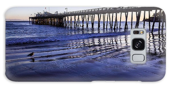 Galaxy Case featuring the photograph Capitola Wharf Reflections by Priya Ghose