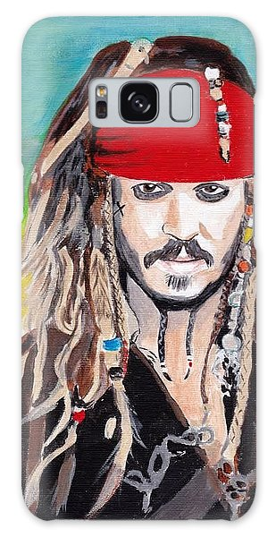 Cap'n Jack Sparrow Galaxy Case
