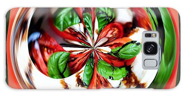 Caprese Salad Orb Galaxy Case