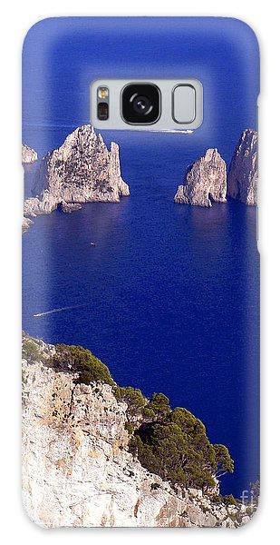 Capri Italy Seascape Galaxy Case