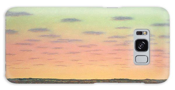 Farmland Galaxy Case - Caprock Sunrise by James W Johnson
