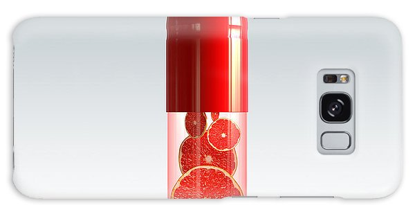 Capsule With Citrus Fruit Galaxy Case by Johan Swanepoel