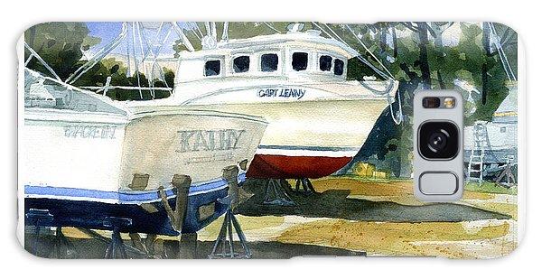 Capt. Lenny Trawler Galaxy Case