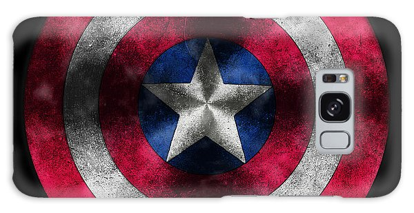 Captain America Shield Galaxy Case