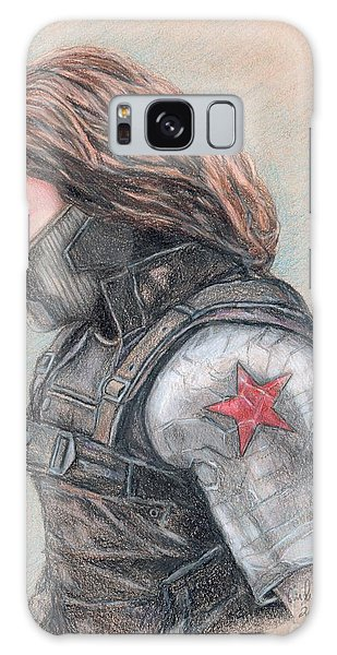 Captain America Winter Soldier Galaxy Case
