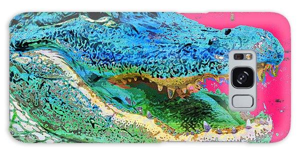 Captain Crocky Alligator Lunch Galaxy Case