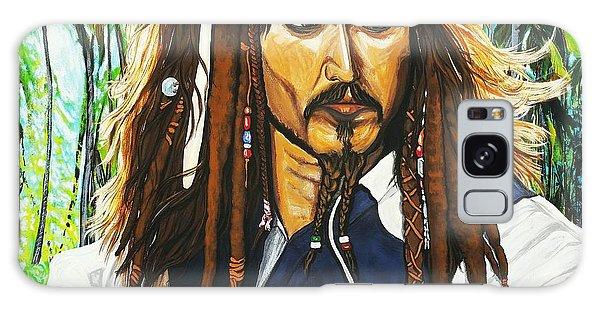 Captain Jack Sparrow Galaxy Case