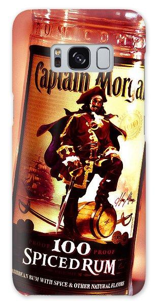 Captain Morgan Red Toned Galaxy Case