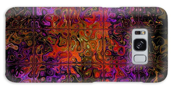 Captive Thoughts Abstract Galaxy Case