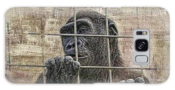 Gorilla Galaxy S8 Case - Captivity by Tom Mc Nemar