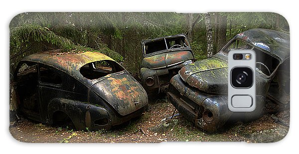 Woods Galaxy Case - Car Cemetery In The Woods. by Steen Lund Hansen