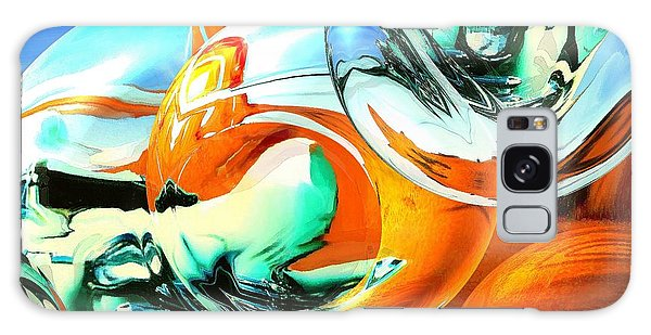 Car Fandango - Modern Art Galaxy Case