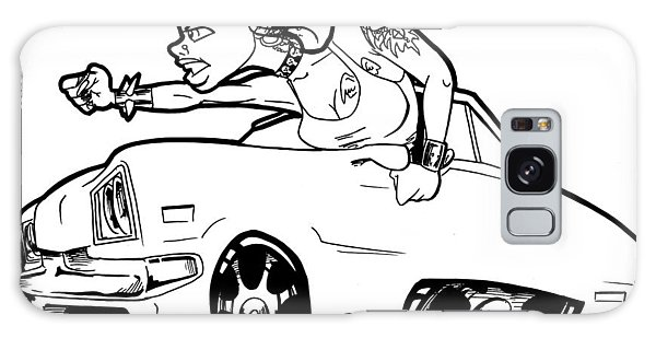 Old Truck Galaxy Case - Car Wench by Big Mike Roate