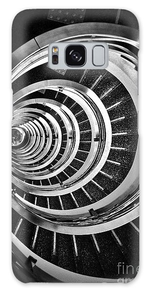 Time Tunnel Spiral Staircase In Sao Paulo Brazil Galaxy Case