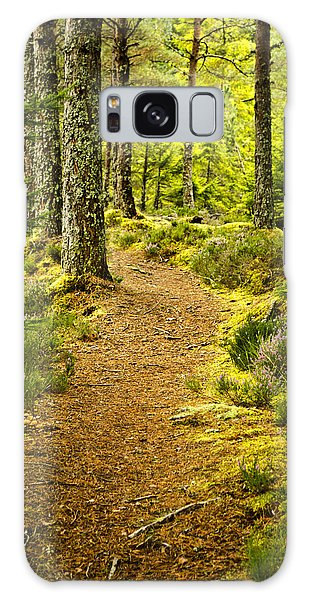 Carbisdale Path Scotland Galaxy Case