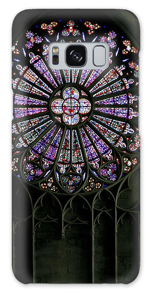 Carcassonne Rose Window Galaxy Case