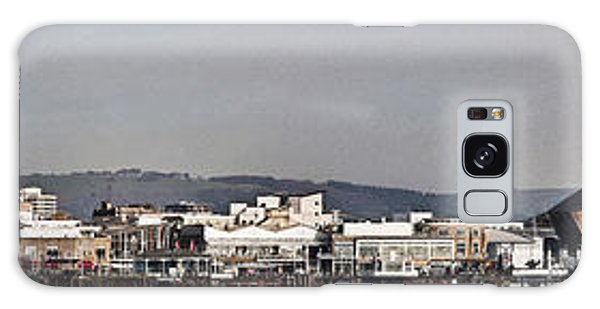 Cardiff Bay Panorama 2 Galaxy Case by Steve Purnell