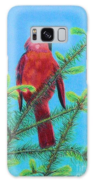 Cardinal Bird Galaxy Case