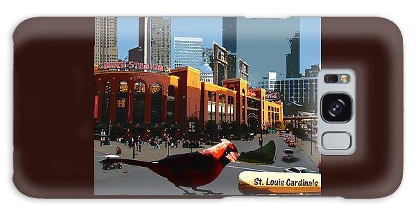Cardinal Town Galaxy Case by John Freidenberg