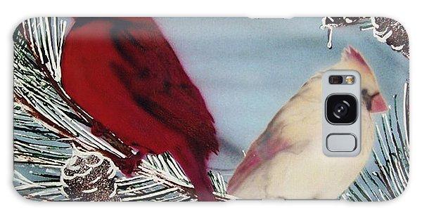 Cardinals Galaxy Case
