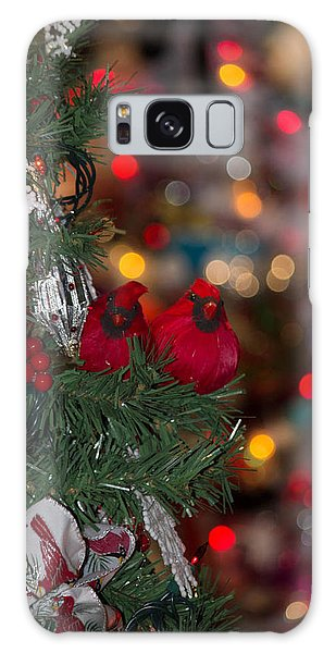 Cardinals Galaxy Case by Patricia Babbitt