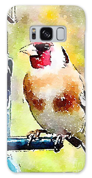 Carduelis Carduelis 'waterfinch' Galaxy Case