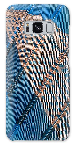 Carew Tower Reflection Galaxy Case by Rob Amend