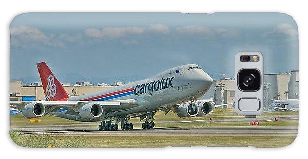 Cargolux 747-8f Galaxy Case by Jeff Cook