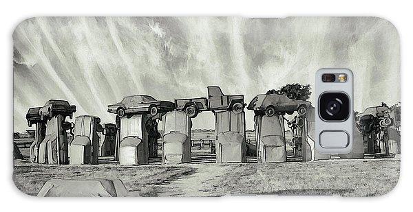 Carhenge Revival Galaxy Case