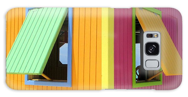 Window Galaxy Case - Caribbean Corner 3 by Randall Weidner