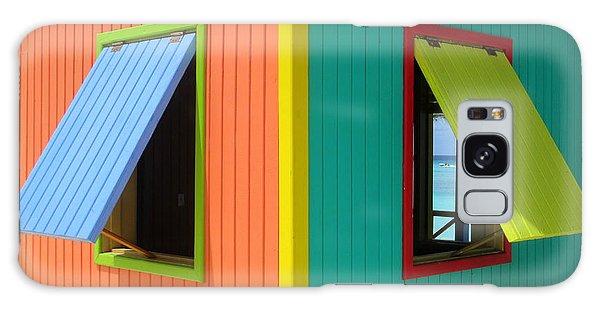 Caribbean Corner 4 Galaxy Case by Randall Weidner