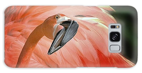 Caribbean Flamingo Galaxy Case