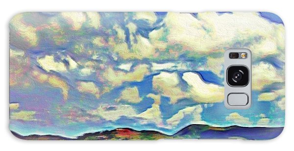 Caribbean Island Landscape - Square Galaxy Case
