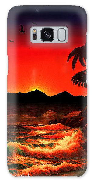 Caribbean Islands Galaxy Case